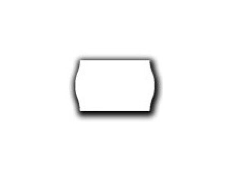 Uno prijsetiketten 26x16 wit - 12 rol à 1000 etiketten