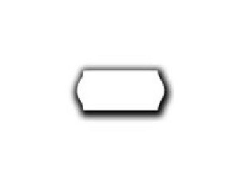 Uno prijsetiketten 26x12 wit - 12 rol à 1500 etiketten