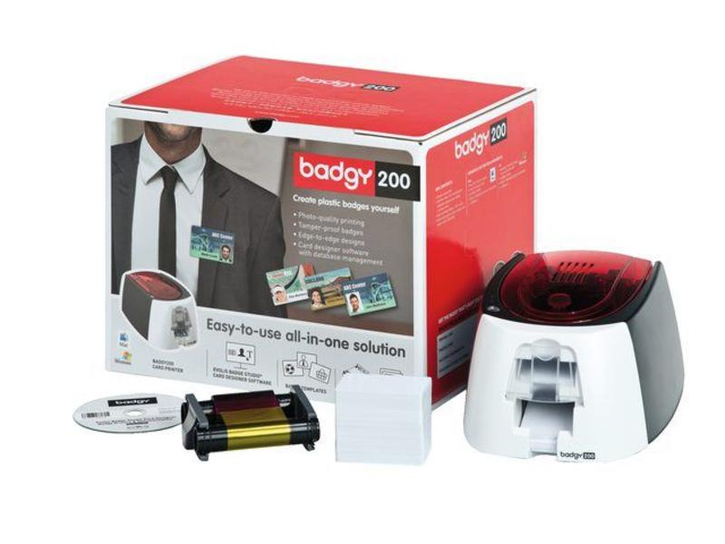 Kaartprinter Badgy 200 set