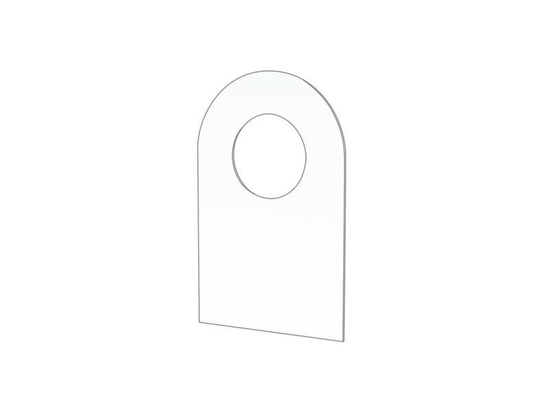Zelfklevende haken - ø 10 mm