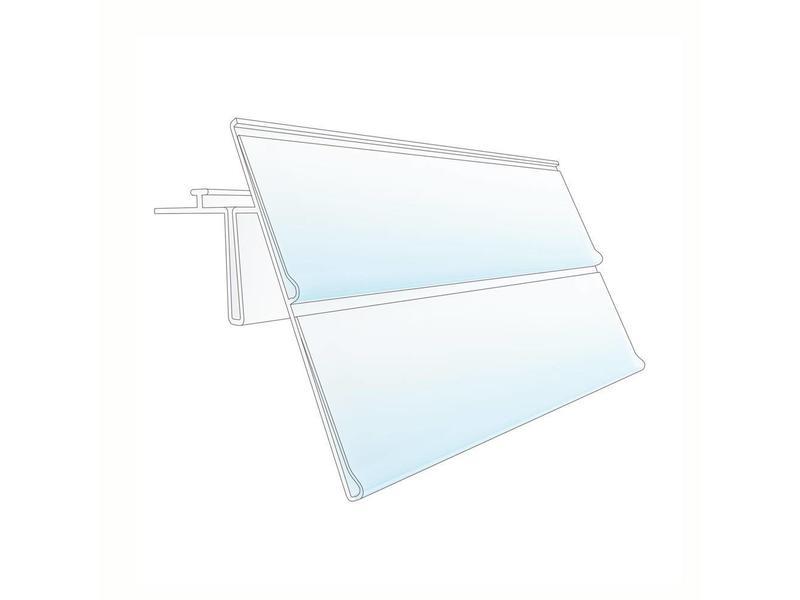 Barcode-prijskaartrail HEP 26 mm dubbel
