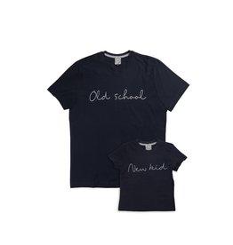 Studio Mini-Me Oldschool t-shirt set Papa+kind