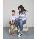 Studio Mini-Me Peach sweaterset Mama+kind