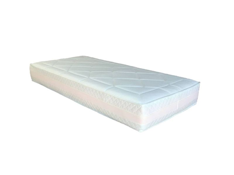 Matras Pocketvering Traagschuim : Pocketvering traagschuim matras zones pockets