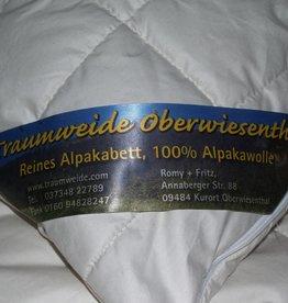 Traumweide Oberwiesenthal Alpaka-Stepp-Bett, Herbst/Winter,