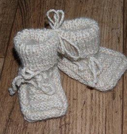 Traumweide Oberwiesenthal Babyschuhchen, 100% Babyalpaca