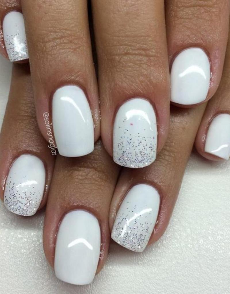 Gel Polish Snow White