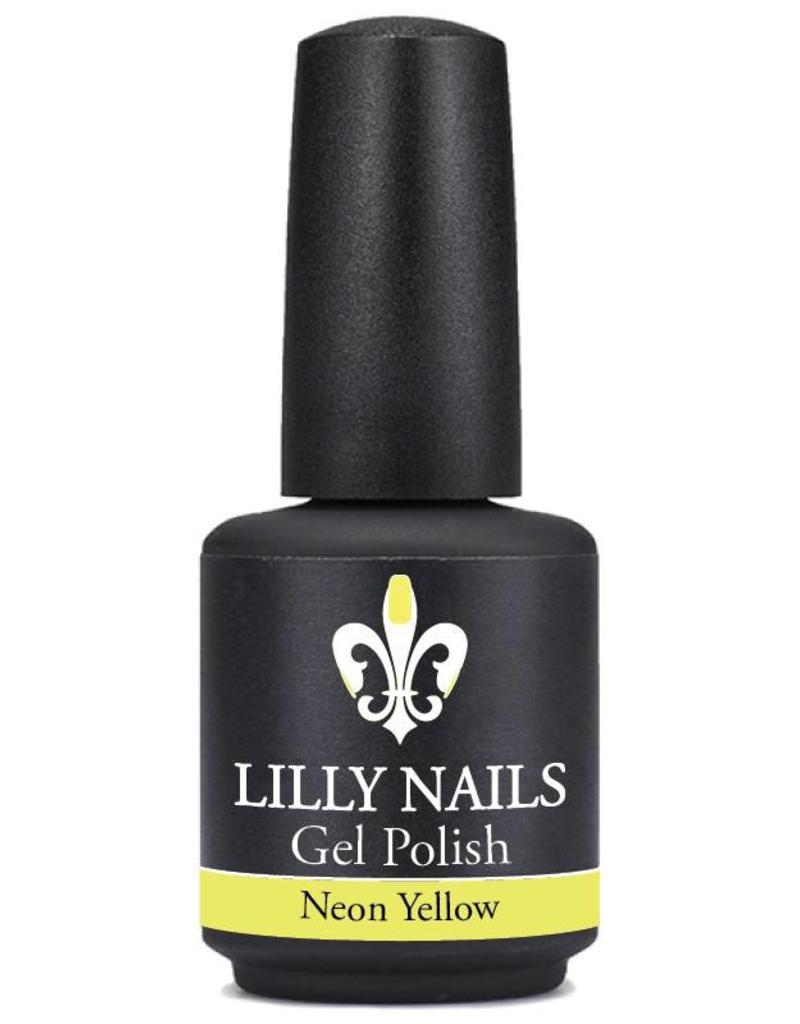 Gel Polish Neon Yellow
