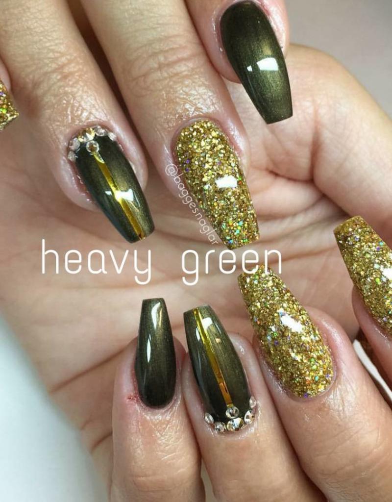 Gel Polish Heavy Green