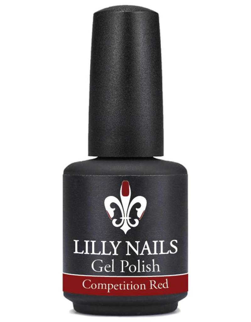 Gel Polish Competition Red