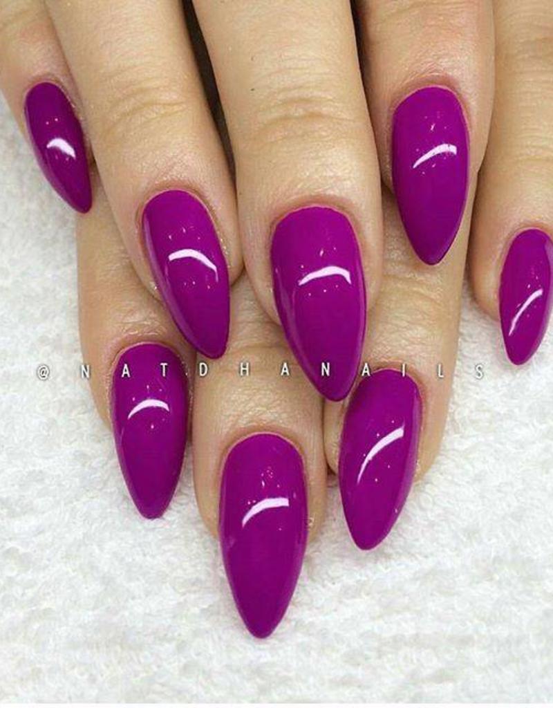 Gel Polish Neon Berry