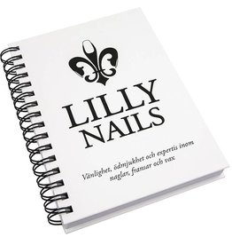 Lilly Nails Notebook