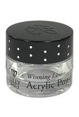 Empty Jar  Winning Line Acrylic Powder