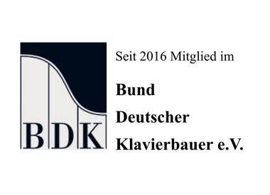 Mitglied im Bund Deutscher Klavierbauer e.V.