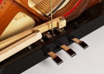 FEURICH Mod. 115 - Premiere Weiß poliert/Messing