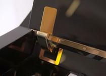 FEURICH Mod. 125 - Design Schwarz poliert/Messing