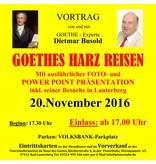 PS-ArenA Ticket • GOETHEs-Harz-Reisen 20.11.2016, 17:00 Uhr