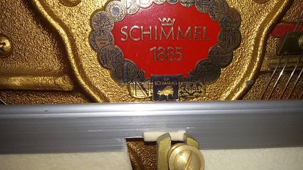 Schimmel Schimmel-Klavier Mod. 105 • Baujahr 1975 • Gebrauchtt