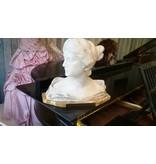 Marmorbüste • Clara Wieck (spätere Schumann) • um 1830