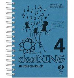Verlag DUX das DING - Kultliederbuch - Band 4