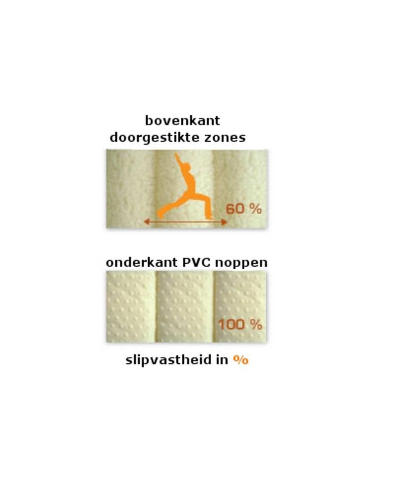 Mani Vivendi Yogamat van biologische scheerwol 3 cm dik (lichtgewicht)