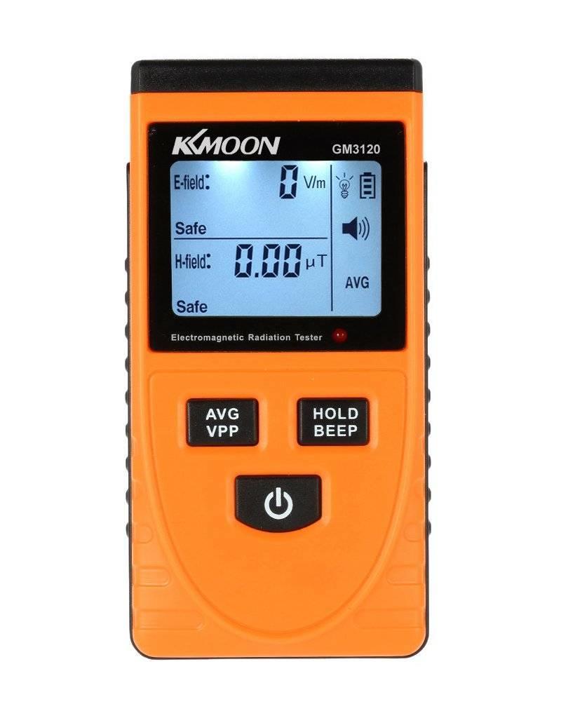 Mani Vivendi Stralingsmeter voor het meten van Elektrische en elektromagnetische straling