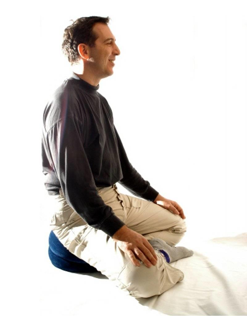 Mani Vivendi Opblaasbaar yoga- en meditatiekussen