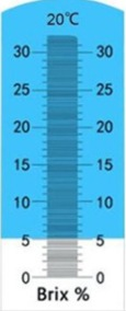 schaal refracto meter