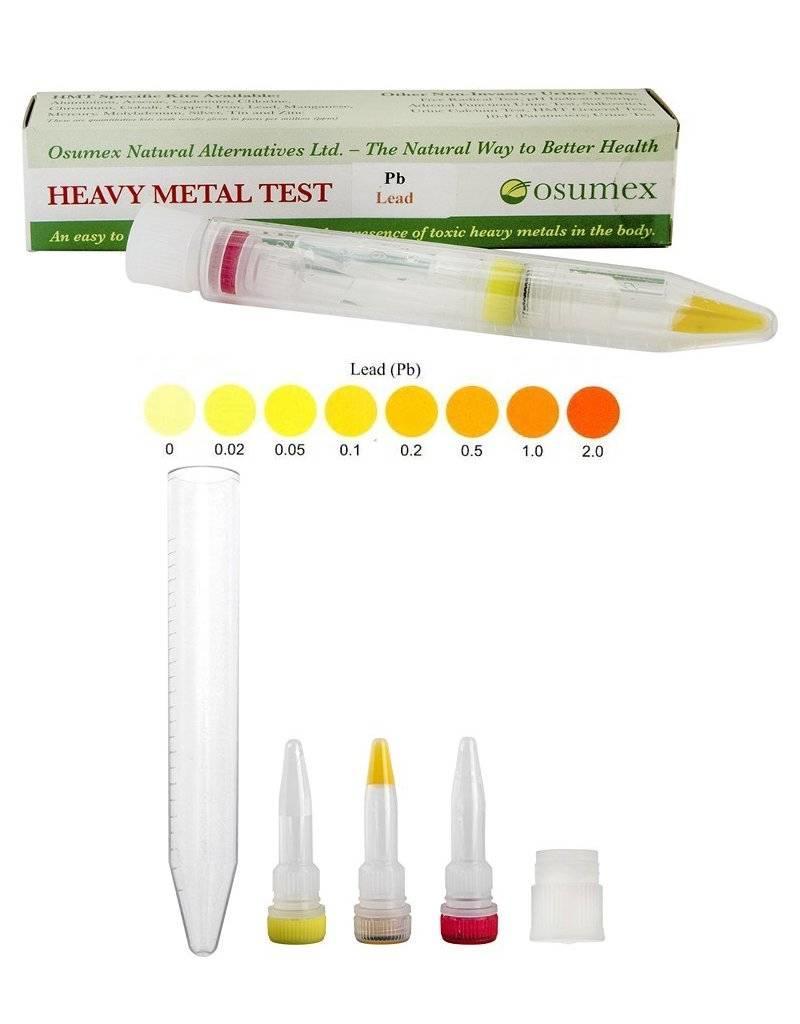 Osumex Loodtest voor water en urine
