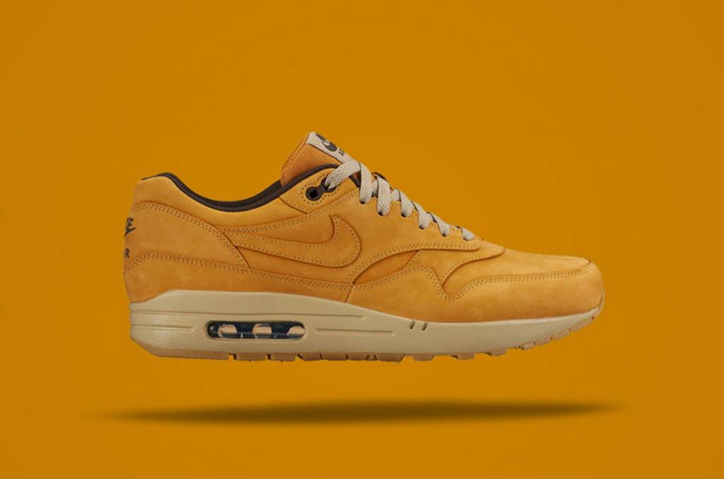 Nike Air Max 1 Leather Premium 'Wheat Pack' terug in 2016