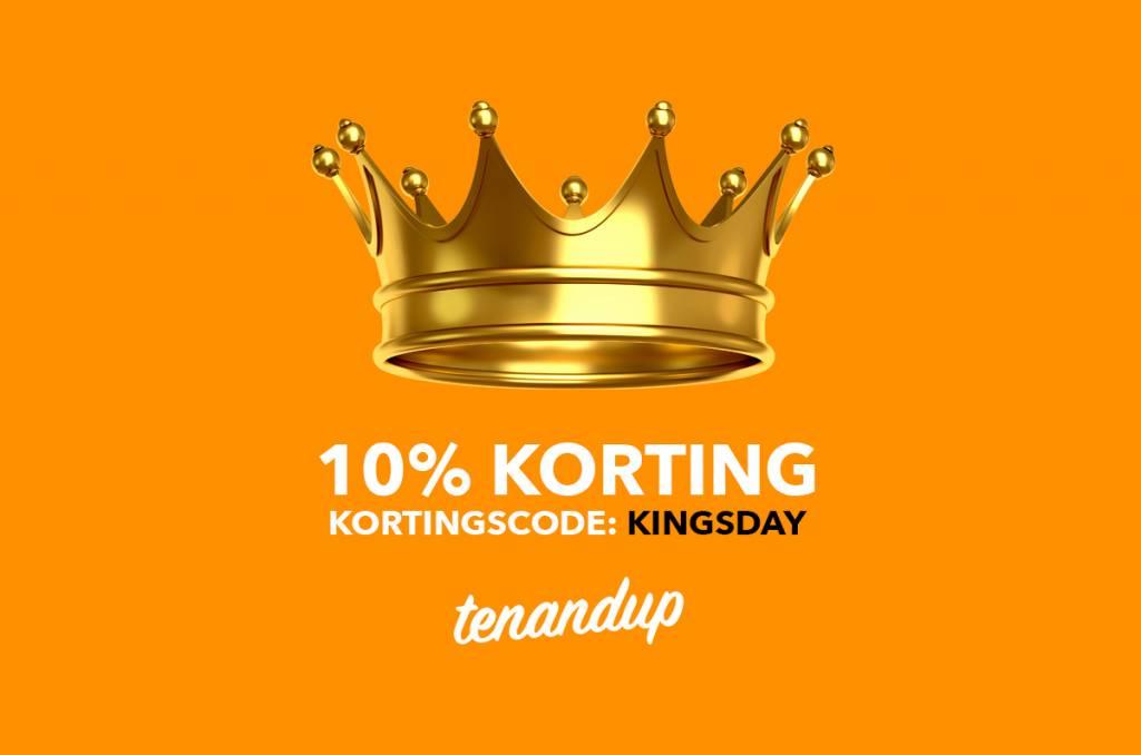 10% Korting op Koningsdag 2017