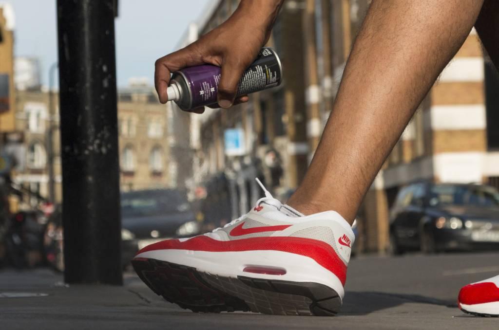 Voorkom vuile sneakers met dit middel