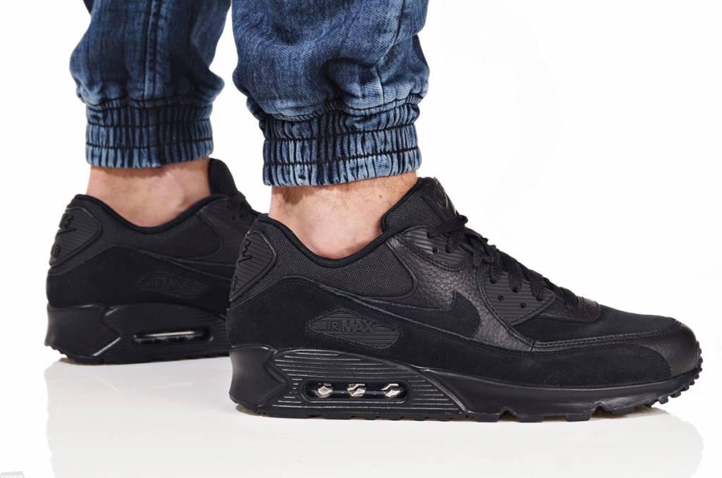 Nike Nike Air Max 90 Premium 700155-012 (Black/Black)