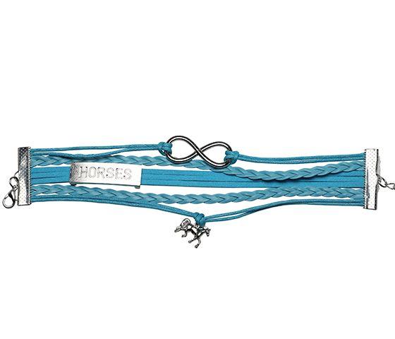 Penny - Blauwe armband