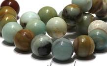 Amazonit Perlen ca. 20mm
