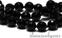 Onyx Perle Facettentiert ca. 12mm