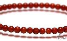 Carneool - Kornalijn kralen armband ca. 4mm