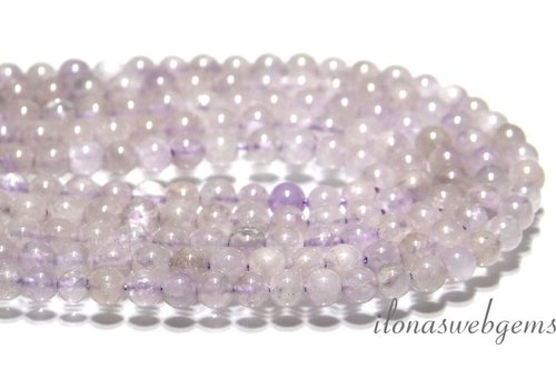 Amethyst beads app. 5mm