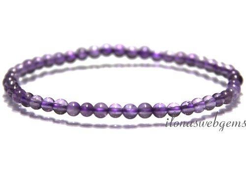 Amethyst beads bracelet app. 4.3mm
