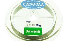 Cenfill RVS gecoat rijgDraht 0.18mm