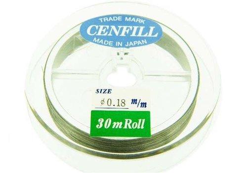 Cenfill RVS gecoat rijgdraad 0.18mm