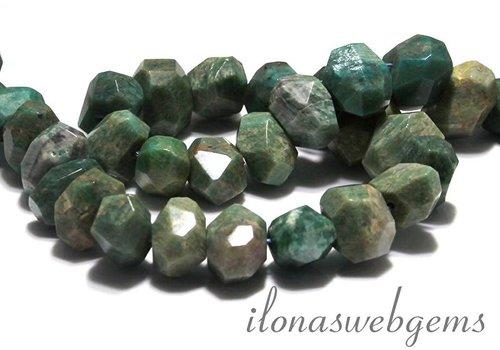 Russian Amazonite beads free shape facet