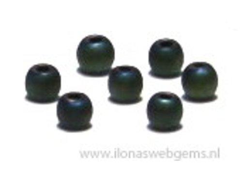 app. 200 pieces mini hematite beads / spacer app. 2.2mm