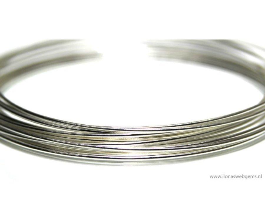 1cm Sterling Silber-Draht-Standard. 0.7mm / 21GA - Ilona\'s Webgems