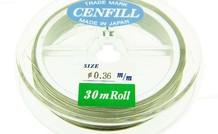 Cenfill RVS gecoat rijgDraht 0.36mm ( 7 Drahts)