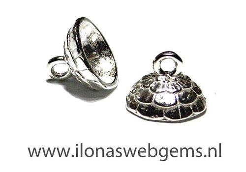 925/000 Silber Perlenkap ca. 10mm