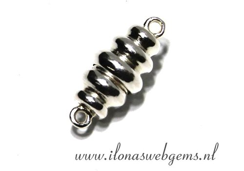 Sterling Silver magnetclasp app. 20x9mm