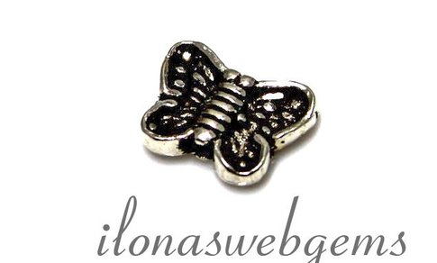 1 925/000 Silber vlinder ca. 10x7x2,8mm
