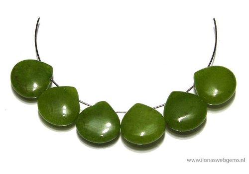 6 Jade drops flat