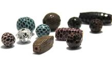 Echtes Leder / Leder Perlen